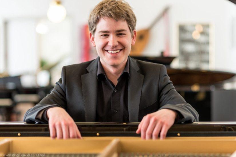 Pianist und Klavierlehrer Jakob Schachamayr aus Wien